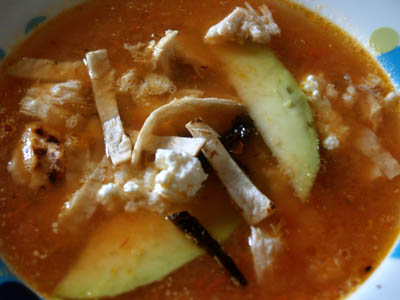 sopa azteca 1 © cocineraloca.fr