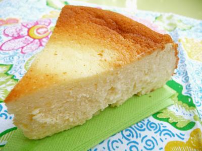 Gateau fromage blanc en faisselle