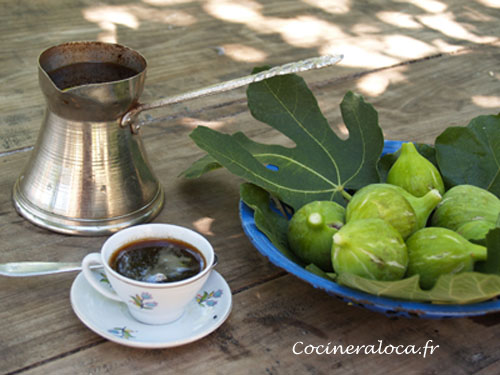 Café turc dans le Konavlé