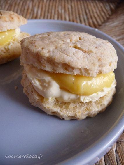 scones lemon curd ©cocineraloca.fr