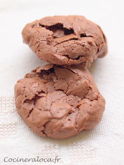 Biscuits soufflés au chocolat ©cocineraloca.fr