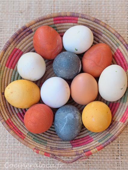 Teindre des œufs avec des couleurs naturelles : spécial Pâques, la ...