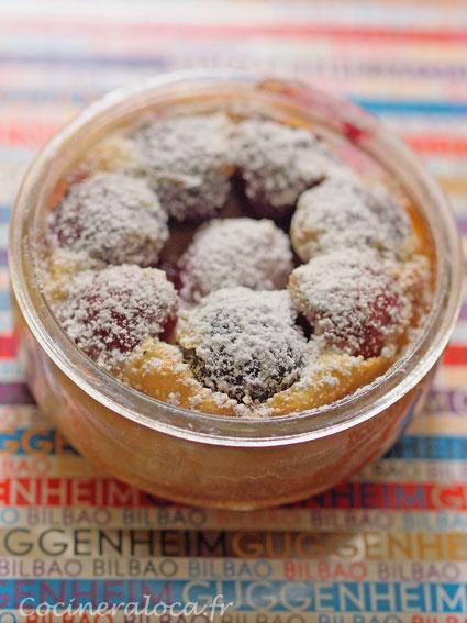flans aux cerises express ©cocineraloca.fr