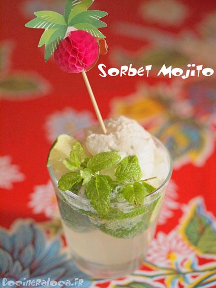 sorbet mojito ©cocineraloca.fr