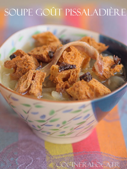soupe goût pissaladière ©cocineraloca.fr