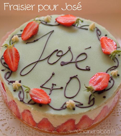 Fraisier : gâteau de printemps ©cocineraloca.fr
