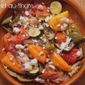 Légumes à la feta et au thym ©cocineraloca.fr